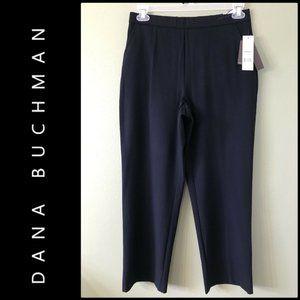 DANA BUCHMAN WOMAN DRESS PANTS BLACK SIZE 10 NWT